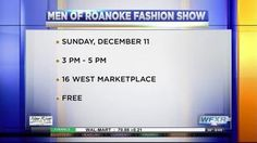 A group of distinguished men in the community will be showcased at the Men of Roanoke Fashion Show and Dinner Auction.