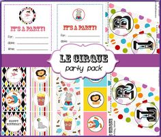 Free Printable Friday:  Preparing a Circus Party