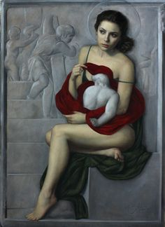 ''Madonna of the Stairs'' Cesar Santos