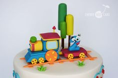 Bob, the Train cake