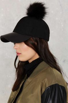 Poms Away Baseball Cap - What's New