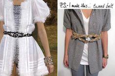 DIY Belt DIY Women Fashion DIY Crafts