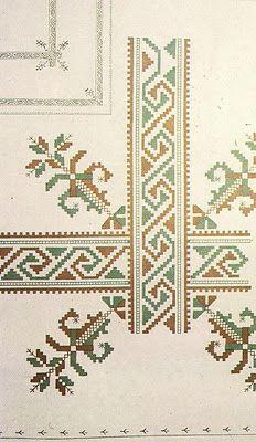 badulake de ana: BORDADO SEGOVIANO Hardanger Embroidery, Folk Embroidery, Embroidery Patterns Free, Cross Stitch Embroidery, Cross Stitch Patterns, Knitting Patterns, Celtic Cross Stitch, Cross Stitch Rose, Drawn Thread