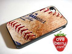 Dirty Baseball MLB iPhone and Samsung Galaxy Phone Case