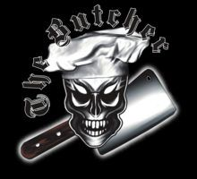 Butcher Skull on T-shirts, hoodies, phone cases and more, from Redbubble.