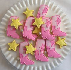 Cowgirl Cookies by TheSweetLifeinCA on Etsy, $36.00