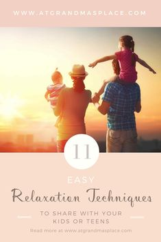 11 easy relaxation techniques to share with your kids or teens . If you're wondering how to help you kids or teen handle stress, read this. Find out more atgrandmasplace.com . #stress management for kids #calm down #coloring #journal #coping skills #essential oils #strategies for childhood stress #tips #ideas #activities #parents