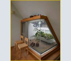 We've found some new Pins on the table for you WP Post Attic Renovation, Attic Remodel, Loft Room, Bedroom Loft, Attic Rooms, Attic Spaces, Casa Tokyo, Interior And Exterior, Interior Design