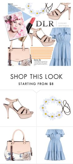 """DLR -Luxury Boutique"" by ninakistyles ❤ liked on Polyvore featuring Yves Saint Laurent, Fiorelli, Bobbi Brown Cosmetics and dlrboutique"