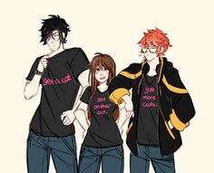 Me and my squad's shirts xD lol