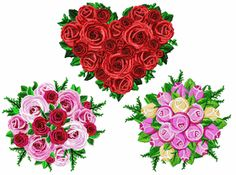 Sweetly Rose Centerpieces Machine Embroidery Designs on sale now for $1 for the set!