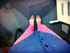No importa la combinacion de colores disfruta tu outfit