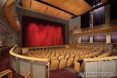 The Kaleidoscope-lenfest stage, favorite spot to stage manage Auditorium Design, School Architecture, Performing Arts, Architect Design, Theater, Art Projects, College, Museum, Ideas