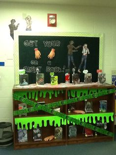 zombie library display