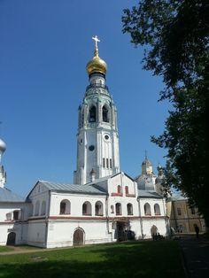 Колокольня Софийского собора , город Вологда, Вологодская обл.