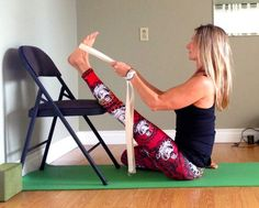 Move into Heron Pose, Krounchasana, and receive the benefits of opening in the area of the hamstrings, the hips, and in the soles of the f...
