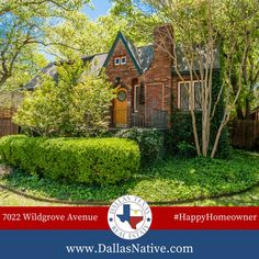 SOLD!!!! Wonderful Tudor home tucked away on a sought-after street in Lakewood. #happyhomeowner #lakewood #tudor #dallasrealestate #kwdallas