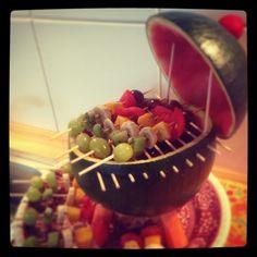 Watermelon BBQ / Melonengrill - vegan, raw -