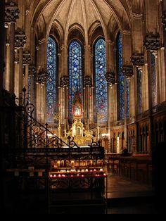 Chapel Notre Dame de la Treille, Lille, France