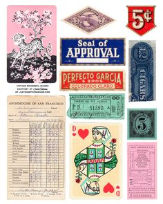 Great vintage typography inspiration (& great typography site)