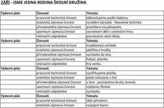 ZÁŘÍ JSME JEDNA RODINA ŠKOLNÍ DRUŽINA - PDF Rodin