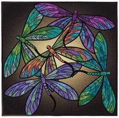 Dance Of The Dragonfly Quilt Pattern