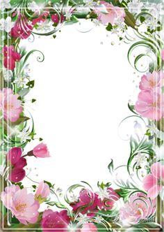 View album on Yandex. Flower Background Wallpaper, Heart Wallpaper, Flower Backgrounds, Flower Picture Frames, Flower Frame, Baby Gift Wrapping, Frame Border Design, Printable Frames, Doodle Frames