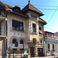 style house built in the late Foisorul de Foc area of . by historic_houses_of_romania Historic Houses, House Built, Bucharest, Romania, 1920s, Mansions, Architecture, House Styles, Building