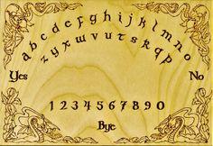 Dragon Ouija Board