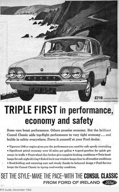 Finding Vintage Cars That Are For Sale - Popular Vintage Classic Chevy Trucks, Classic Cars, Classic Auto, Ford Motor Company, My Dream Car, Dream Cars, Ad Car, Poster Ads, Car Advertising