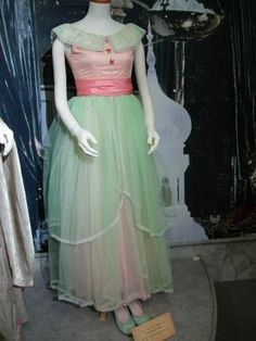 Handmade Green and Pink Yule Ball Gown Profile Photo: Ginny Weasley Dress