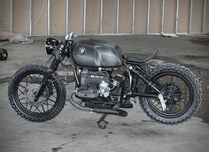 BMW R100S Black Baron >>> Our latest custom motorbike crush is this beastly beamer by Denmark's Relic Motorcycles. The donor bike started as a BMW R100S (it was actually an old police bike) from the 80s, and was striped to its essentials.
