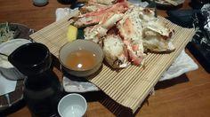 誕生日に友達がカニづくしに連れて行ってくれました。蟹も日本酒もほんのり甘くて最高でした!【甲殻類まみれさん☆11ー12月冬到来!楽しい酒模様】2015年11-12月プレゼント当選おめでとうございます!