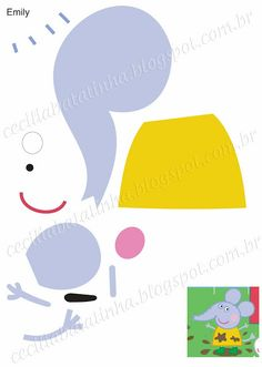 : Upon request - Moulds Peppa Pig and the gang Molde Peppa Pig, Peppa Pig Imagenes, Cumple Peppa Pig, Peppa Pig Y George, George Pig, Clown Party, Pig Party, Peppa Pig Familie, Familia Peppa Pig