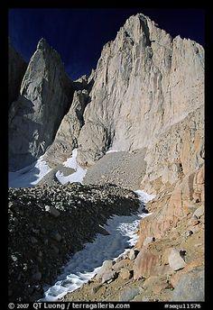 Mt. Whitney, Sequoia National Park, California, USA