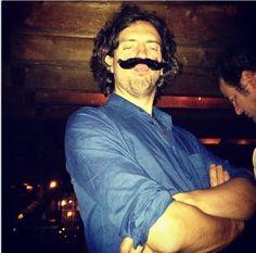 "@garysnowpatrol 26 Sep 2013 ""At some point last night I grew a mustache."" via instagram"
