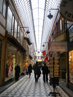 Les Passages Couverts de Paris