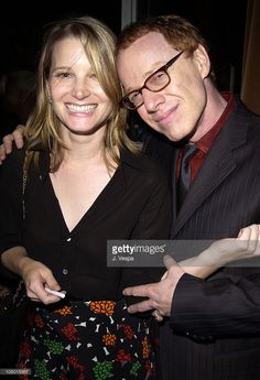 Bridget Fonda and composer Danny Elfman during 'Red Dragon' Premiere After After-Party at the Hudson Hotel at Hudson Hotel in New York, New York, United States. Hudson Hotel, Bridget Fonda, Oingo Boingo, Re Animator, Danny Elfman, Just Good Friends, Red Dragon, Beautiful Couple, Sexy Men