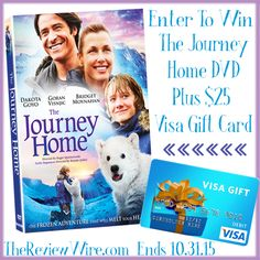 Journey Home Giveaway--  ends 10/30/15