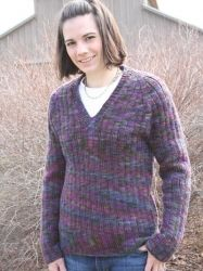 Pilgrim Pullover pattern by Briar Rose Fibers