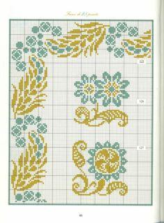 Gallery.ru / Фото #43 - Bordures et Frises Fleuries - Mongia