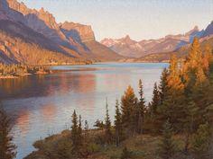 Landscape artist Jay Moore.