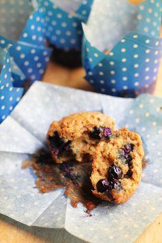 whole wheat blueberry muffins from @AbdulAziz Bukhamseen Week for Dinner
