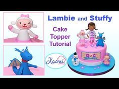 Hi! In this video we teach you how to make Lambie and Stuffy with gum paste for decorating cakes. Hola! En este video te enseñamos cómo hacer a Lambie y Felp...
