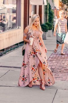 2020 Women Fashion floral homecoming dresses black and white floral maxi dress Floral Homecoming Dresses, Cute Dresses, Casual Dresses, Summer Dresses, Elegant Dresses, Party Dresses, Mode Outfits, Dress Outfits, Fashion Dresses