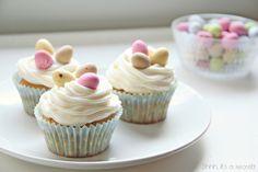 Easter Cupcakes - Shhh, its a secret!