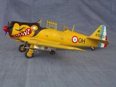 Kitty Hawk 1/32 T-6 in French Colors | Large Scale Planes