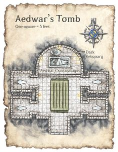 d&d tombs dungeons map - Google Search
