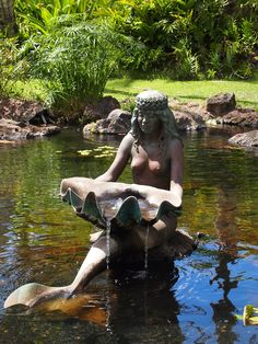 Outdoor sculpture at the Grand Wailea