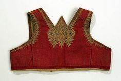 The Metropolitan Museum of Art - Bodice 1800–1939 Culture: Hungarian Medium: [no medium available] Dimensions: [no dimensions available]